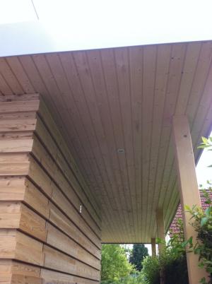 Holzterrassenueberdachung